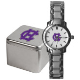 Mens Stainless Steel Fashion Watch-Interlocking HC