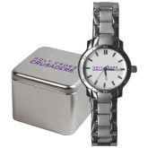 Mens Stainless Steel Fashion Watch-Holy Cross Crusaders