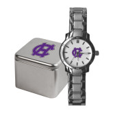 Ladies Stainless Steel Fashion Watch-Interlocking HC