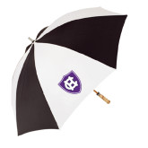 62 Inch Black/White Umbrella-HC Shield