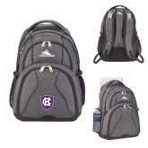 High Sierra Swerve Graphite Compu Backpack-HC Shield