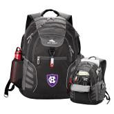 High Sierra Big Wig Black Compu Backpack-HC Shield