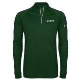 Under Armour Dark Green Tech 1/4 Zip Performance Shirt-Chief Industries