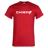 Red T Shirt-Chief - Primary Logo