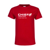 Youth Red T Shirt-Chief Industries - Tag Line