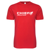 Next Level SoftStyle Red T Shirt-Chief Industries