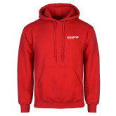 Red Fleece Hoodie-Chief Industries