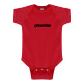 Red Infant Onesie-BonnaVilla