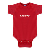 Red Infant Onesie-Chief Industries
