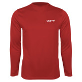 Performance Red Longsleeve Shirt-Chief Industries