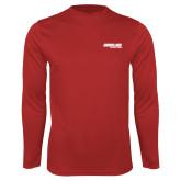 Performance Red Longsleeve Shirt-Heartland Electric