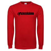 Red Long Sleeve T Shirt-BonnaVilla
