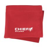 Red Sweatshirt Blanket-Chief Buildings