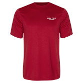 Performance Red Tee-Eagle Crest
