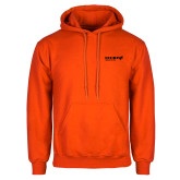 Orange Fleece Hoodie-Chief Industries