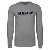 Grey Long Sleeve T Shirt-Chief Industries