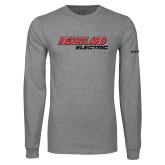 Grey Long Sleeve T Shirt-Heartland Electric
