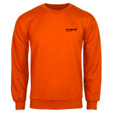 Orange Fleece Crew-Chief Industries