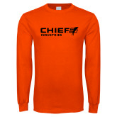 Orange Long Sleeve T Shirt-Chief Industries