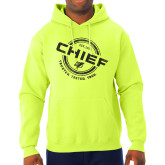 Safety Yellow Hooded Sweatshirt-