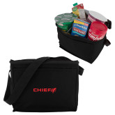 Six Pack Black Cooler-Chief - Primary Logo