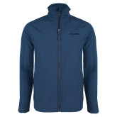 Navy Softshell Jacket-BonnaVilla