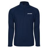 Sport Wick Stretch Navy 1/2 Zip Pullover-BonnaVilla