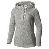 Columbia Ladies Darling Days Sea Salt Pullover-Chief - Primary Logo