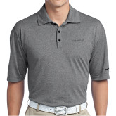 Nike Golf Dri Fit Charcoal Heather Polo-Chief - Primary Logo