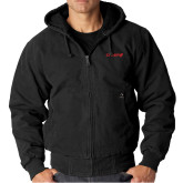 DRI DUCK Cheyenne Black Hooded Jacket-Chief - Primary Logo