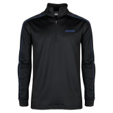 Nike Golf Dri Fit 1/2 Zip Black/Royal Pullover-BonnaVilla