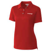 Ladies C&B Championship Red Polo-Chief - Primary Logo