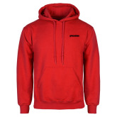 Red Fleece Hoodie-BonnaVilla