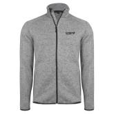 Grey Heather Fleece Jacket-Chief Industries