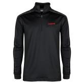 Nike Golf Dri Fit 1/2 Zip Black/Grey Pullover-Chief Industries