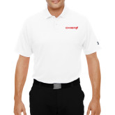 Under Armour White Performance Polo-Chief - Primary Logo