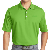 Nike Golf Dri Fit Vibrant Green Micro Pique Polo-BonnaVilla