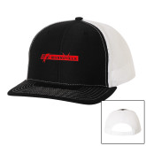 Richardson Black/White Trucker Hat-BonnaVilla