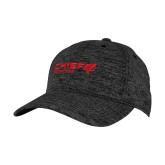 PosiCharge Charcoal/Black Electric Heather Snapback Hat-Chief Industries