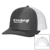 Richardson Charcoal/White Trucker Hat-Chief Industries