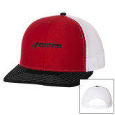 Richardson Red/White/Black Trucker Hat-BonnaVilla