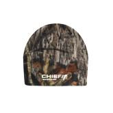 Mossy Oak Camo Fleece Beanie-Chief Industries
