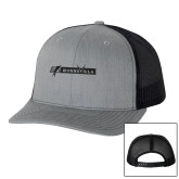 Richardson Heather Grey/Black Trucker Hat-BonnaVilla