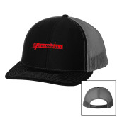 Richardson Black/Charcoal Trucker Hat-BonnaVilla
