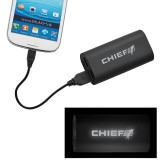 LIGHT UP LOGO Power Bank-Chief - Primary Logo Engraved