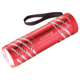 Astro Red Flashlight-Chief - Primary Logo Engraved