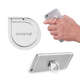 Aluminum Cell Phone Ring/Stand-Chief - Primary Logo Engraved