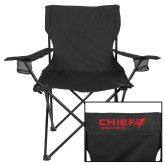 Deluxe Black Captains Chair-Chief Industries