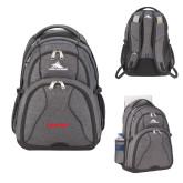 High Sierra Swerve Graphite Compu Backpack-BonnaVilla