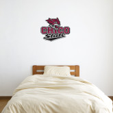 1 ft x 2 ft Fan WallSkinz-Wildcat Head Chico State